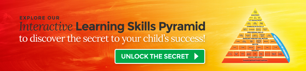 Explore our interactive learning skills pyramid to discover the secret to your child's success!